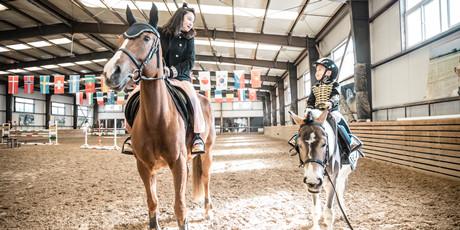 【弨月马术俱乐部】仅29.9/49.9元抢单人/双人体验票→马场参观+喂马+骑术讲解+教练引导骑马,带你享受骑马的乐趣!